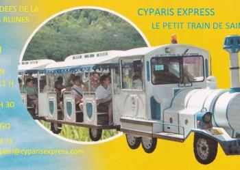 LE PETIT TRAIN DE SAINT-PIERRE – CYPARIS EXPRESS