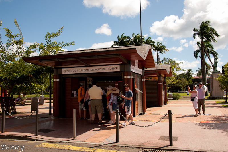 Kiosque d 39 information touristique de fort de france fort de france martinique - Office tourisme fort de france ...