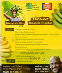banane en fête