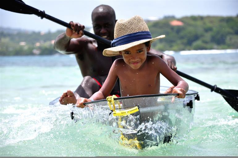 Kayaks et Pirogues en famille